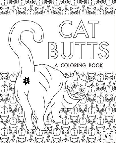 Cat Butts Coloring Book