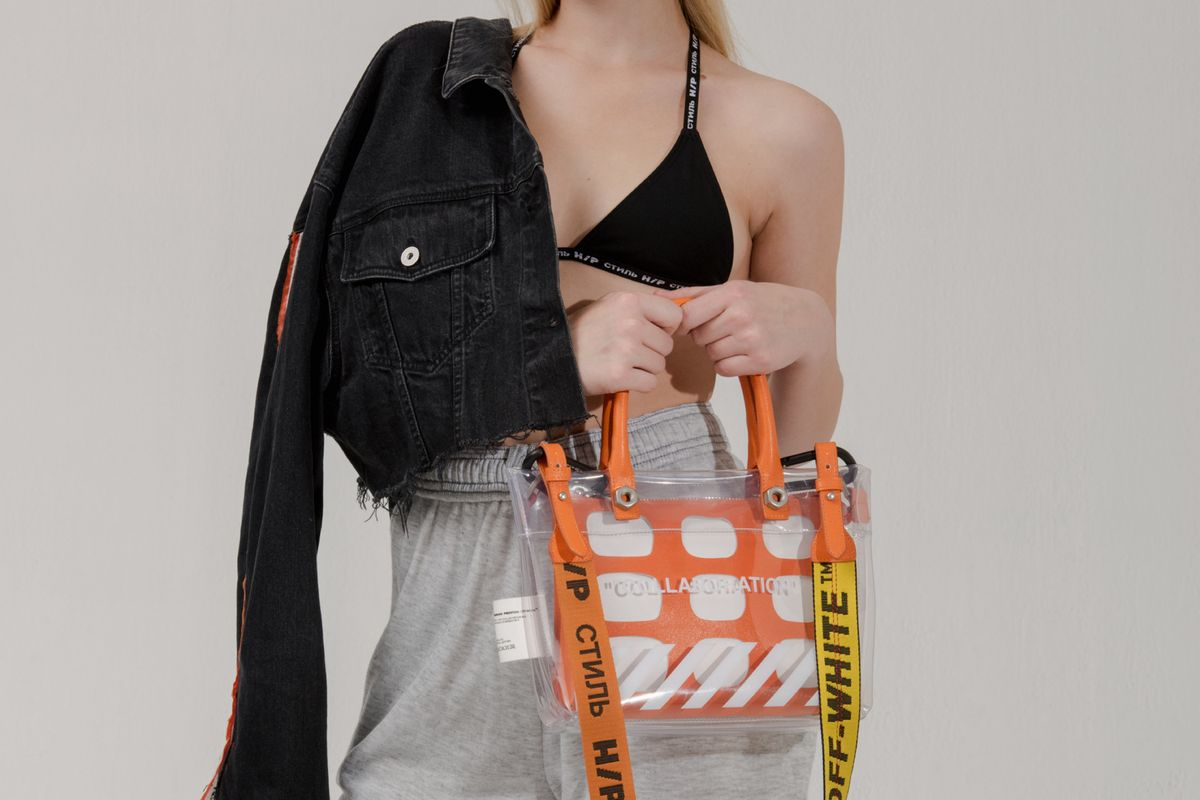 Virgil Abloh and Heron Preston Release 'Collaboration' Handbag