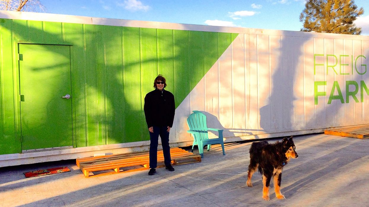 Why This Montana Farmer Grows Food Year-Round in Shipping Containers