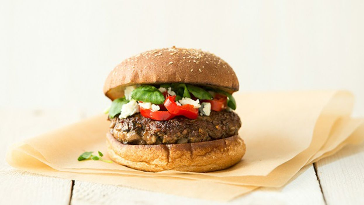'Blended Burger' Allows a Simple Shift to More Sustainable Eating