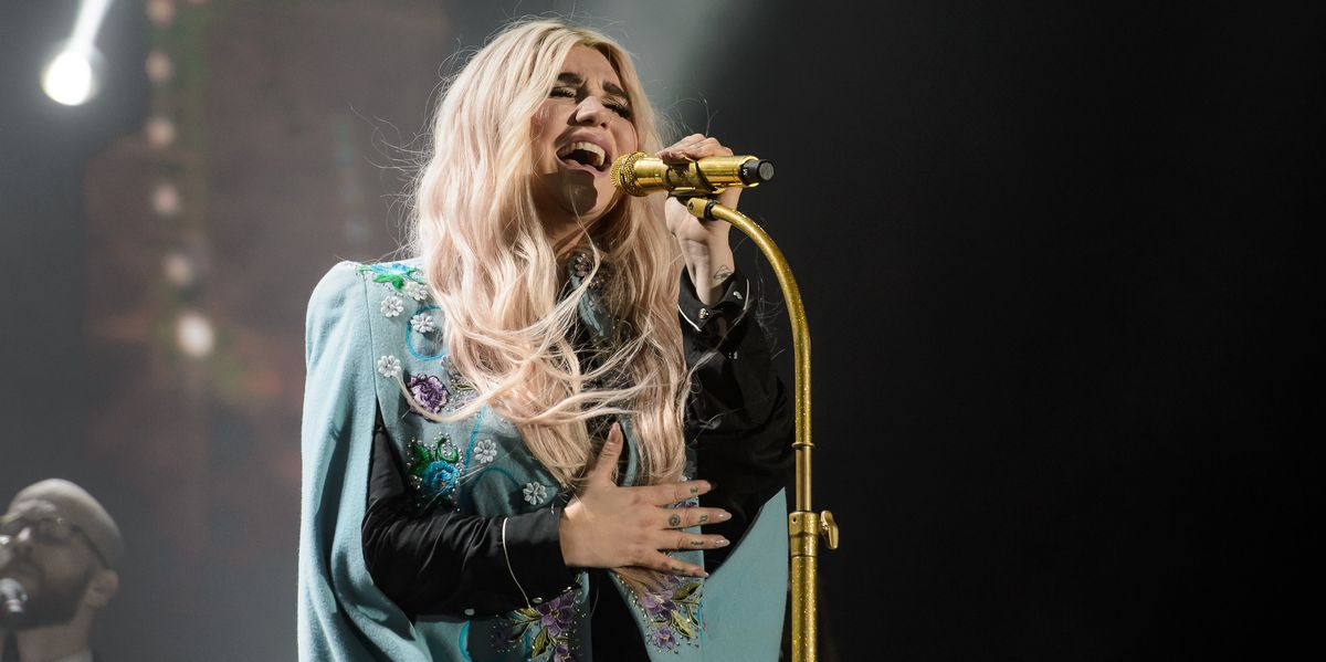 Kesha Shares Live Versions of 'Praying' and 'We R Who We R'