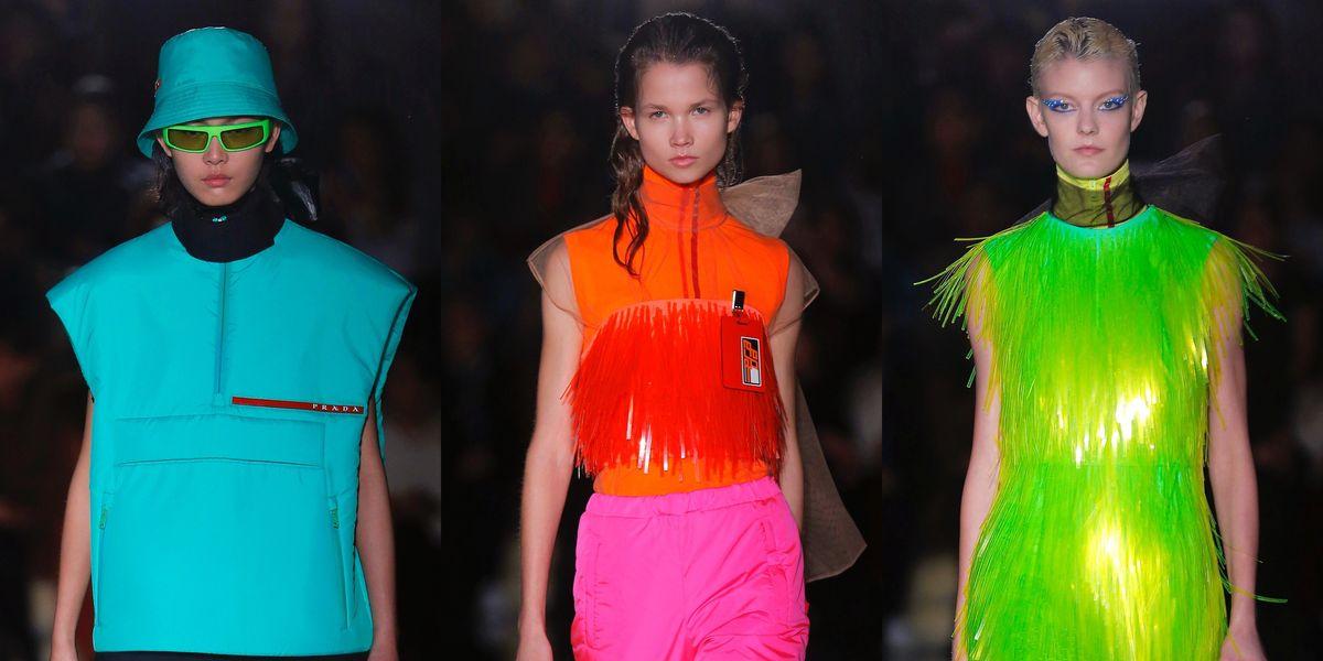 10 Neon Looks You Need from Prada