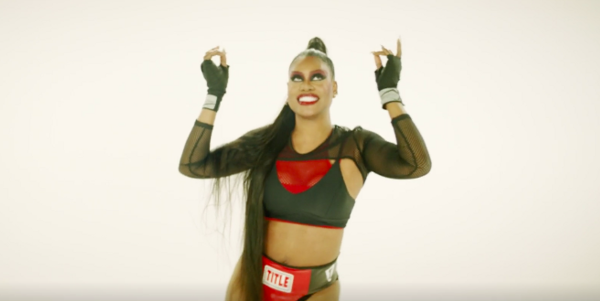 """Laverne Cox Releases First Ever Music Video for """"Beat for the Gods"""""""