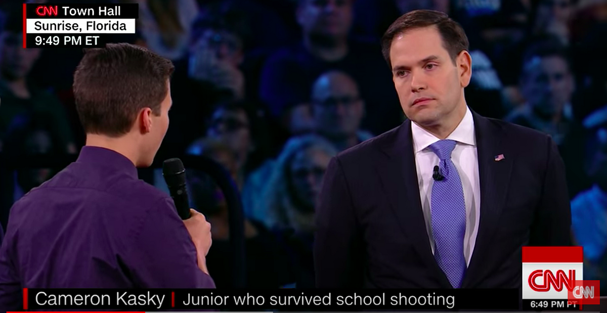 To Marco Rubio And Politicians Paid By The NRA, We Will Stop Your Game Of Russian Roulette With Gun Control