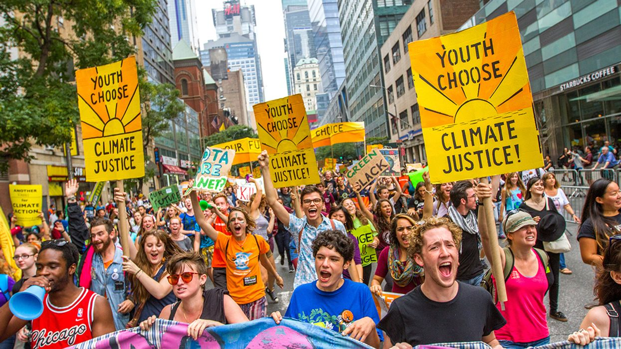 Time for the Teens to Take on the Kochs Over Climate