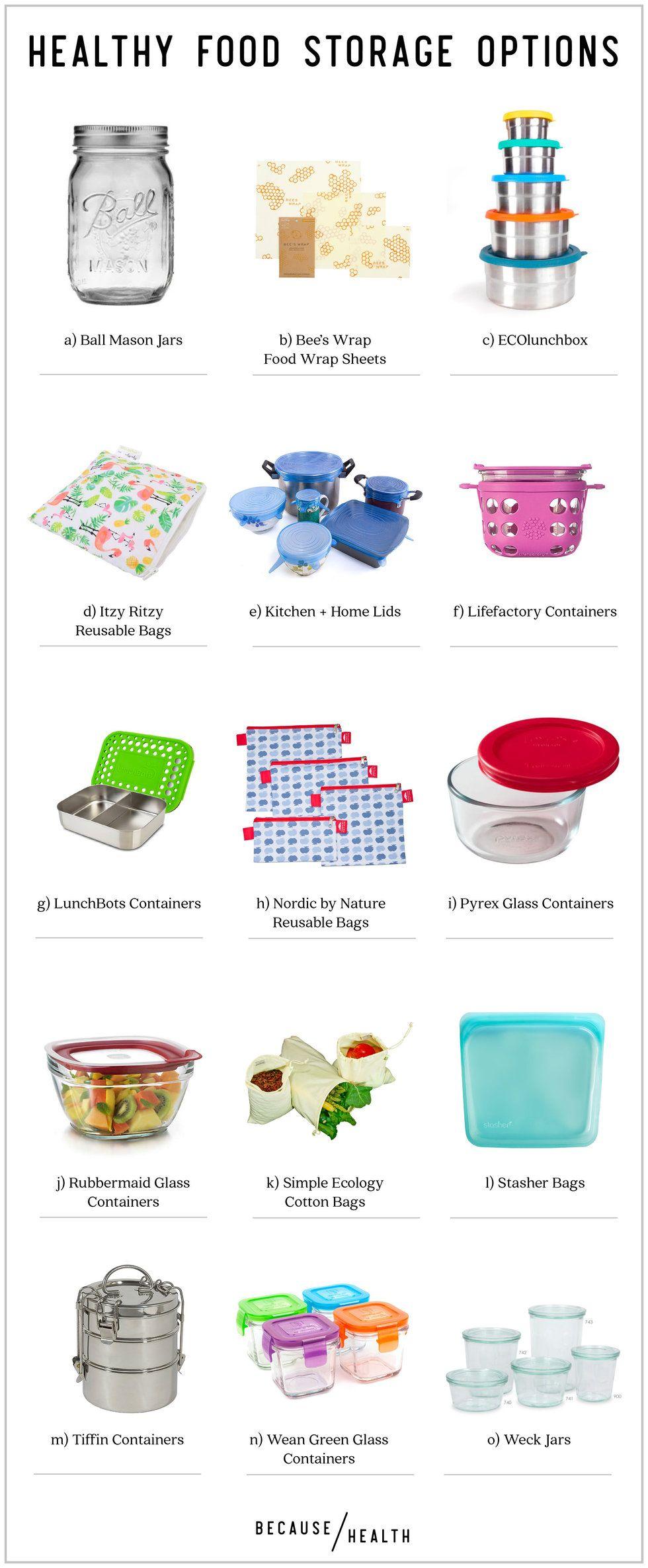 15 Healthy Food Storage Options
