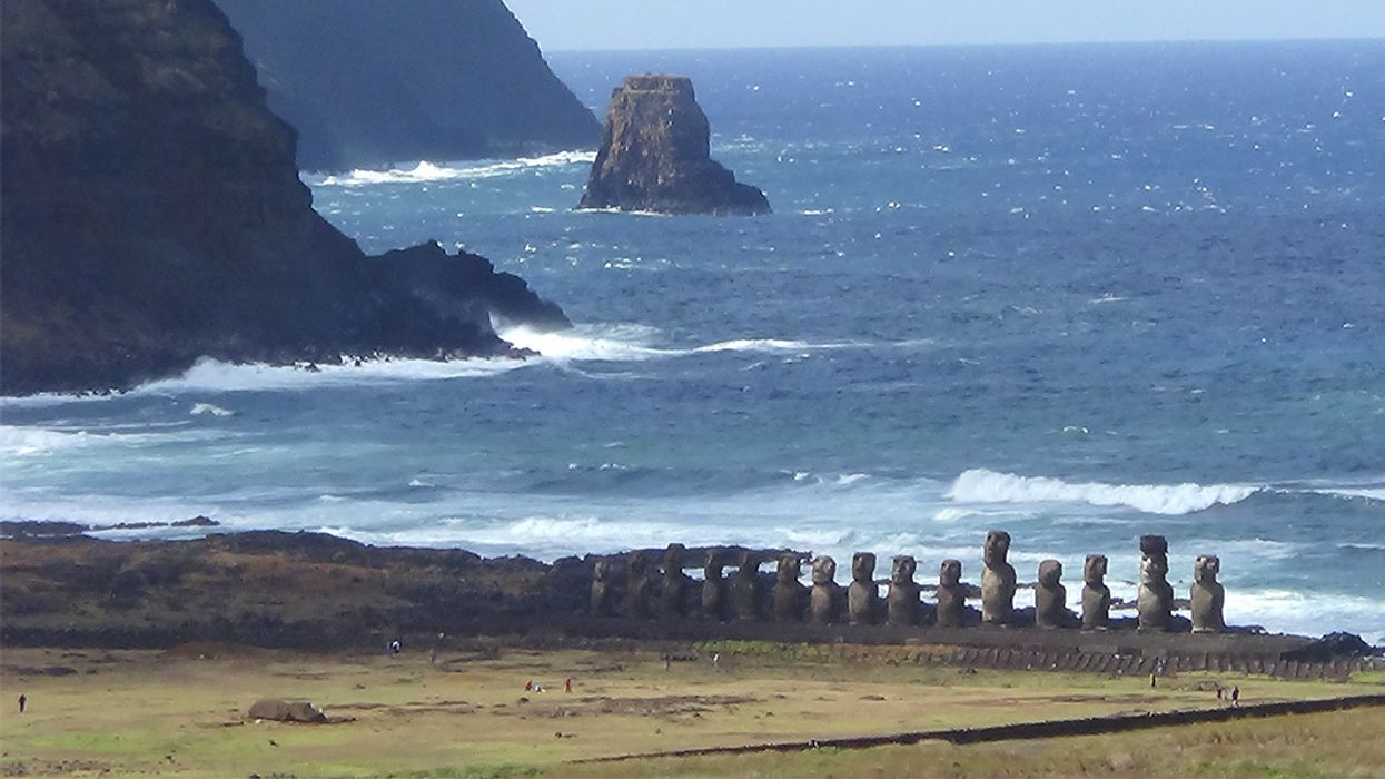 Climate Change Threatens Easter Island