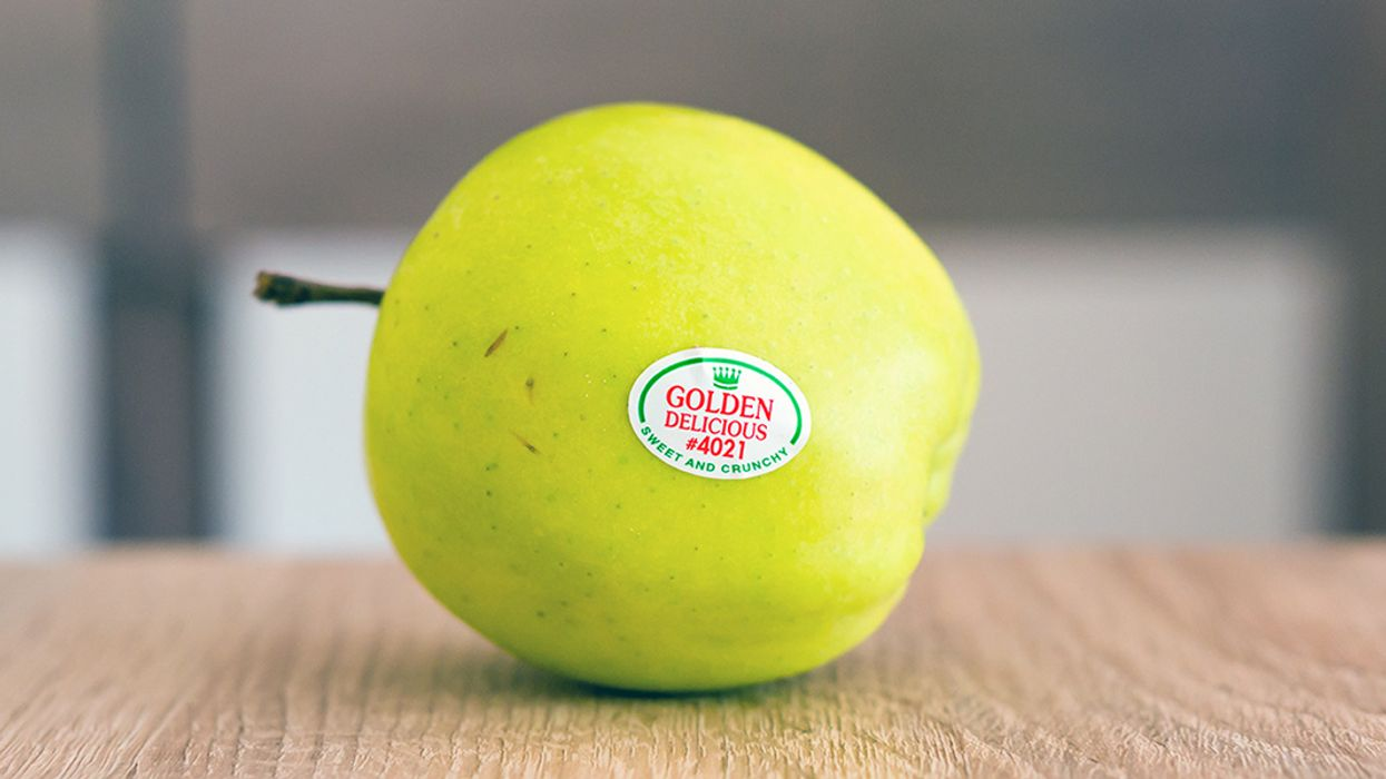 Those Little Produce Stickers? They're a Big Waste Problem