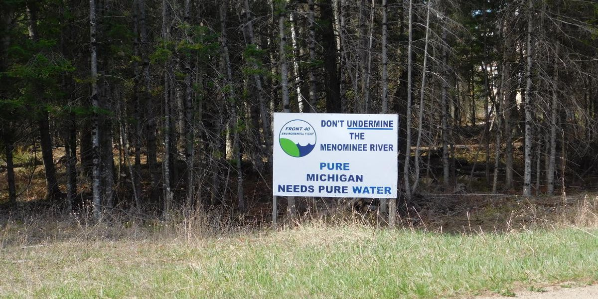 Feds reject Michigan permit for mine near sensitive tribal waters