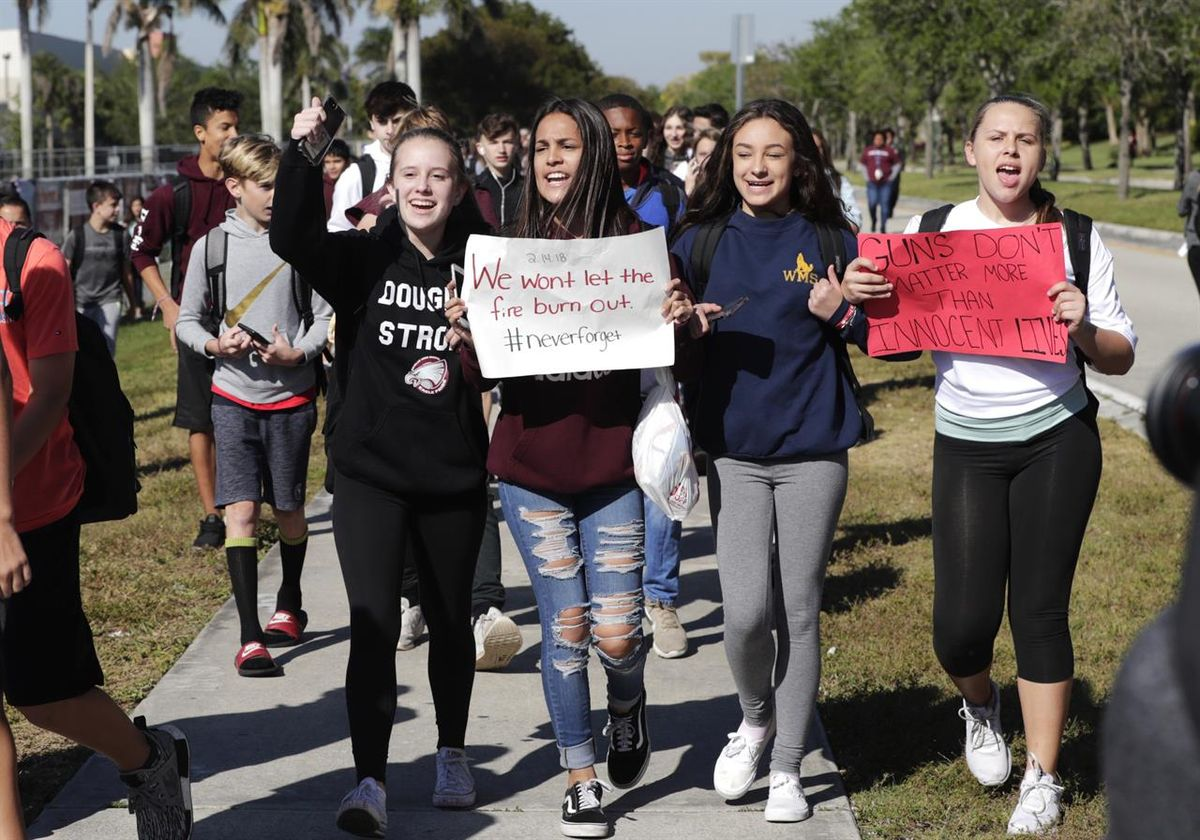 Why The Walk Out Was Necessary For The Gun Control Conversation