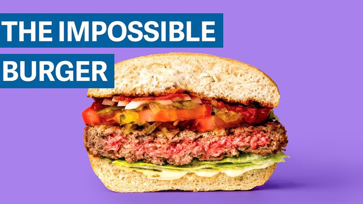 Impossible Burger Executive Grilled at Sustainable Foods Summit