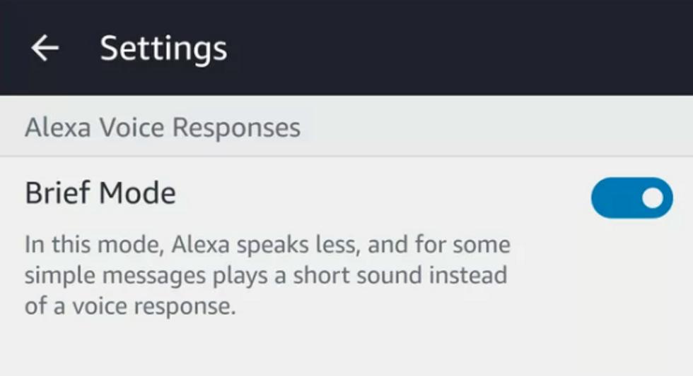 How Do I Get Alexa To Say Ok Again