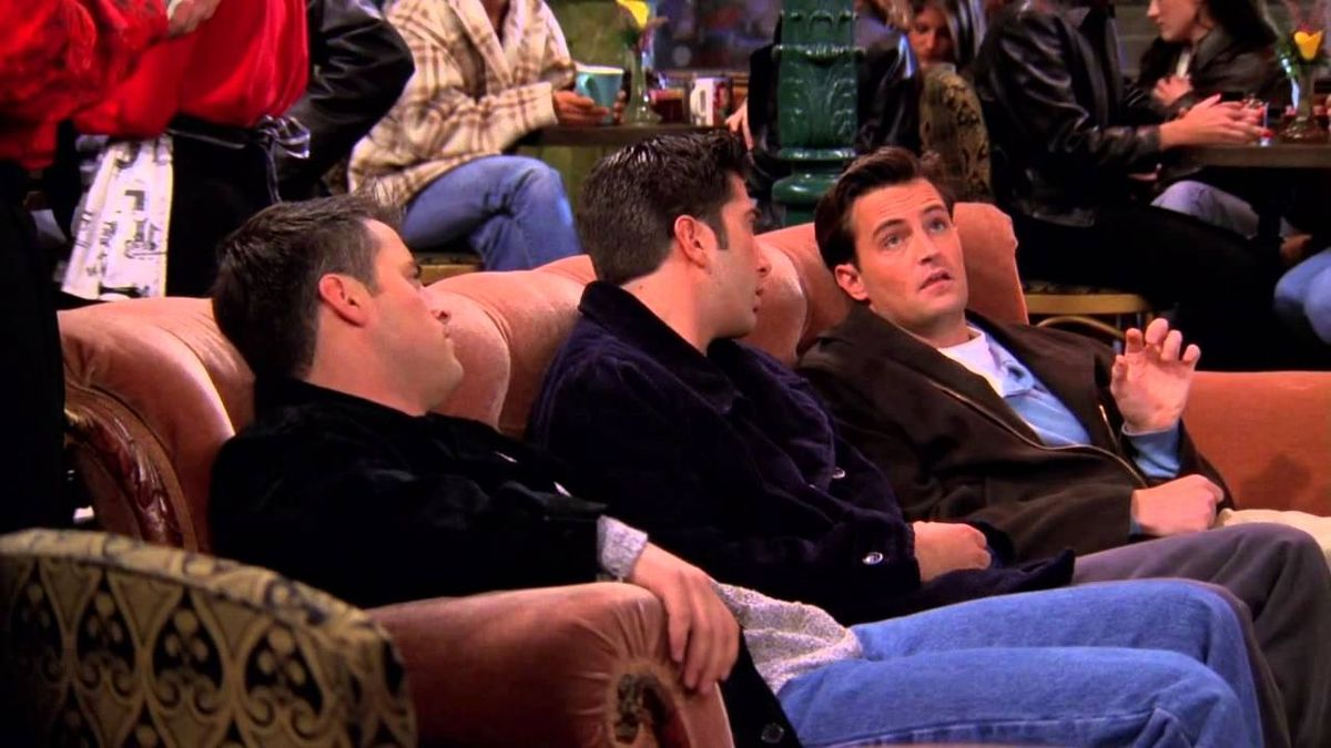 13 Stages Of Going Out In College As Told By 'Friends'