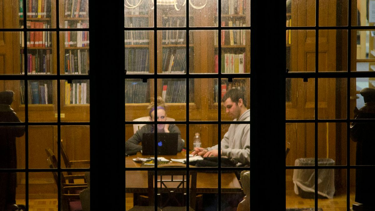 10 Songs To Keep You Sane Studying In The Library From 10 P.M. And Later