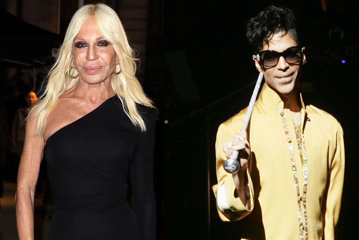 Donatella Versace Says Prince Wanted to Be the 'Face of Black Lives Matter'