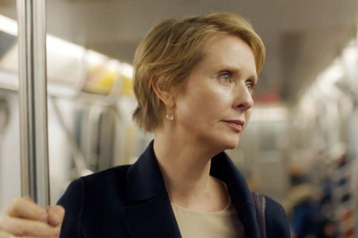 Cynthia Nixon Delayed by Subway En Route to Discuss Fixing Subway