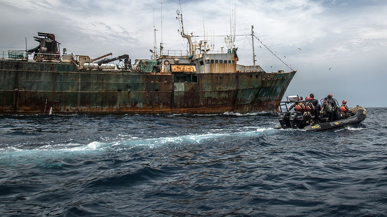 Notorious Toothfish Poacher Arrested by Liberian Coast Guard, Assisted by Sea Shepherd