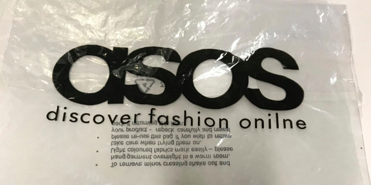 ASOS Printed 17,000 Bags With a Typo, Doesn't Mind