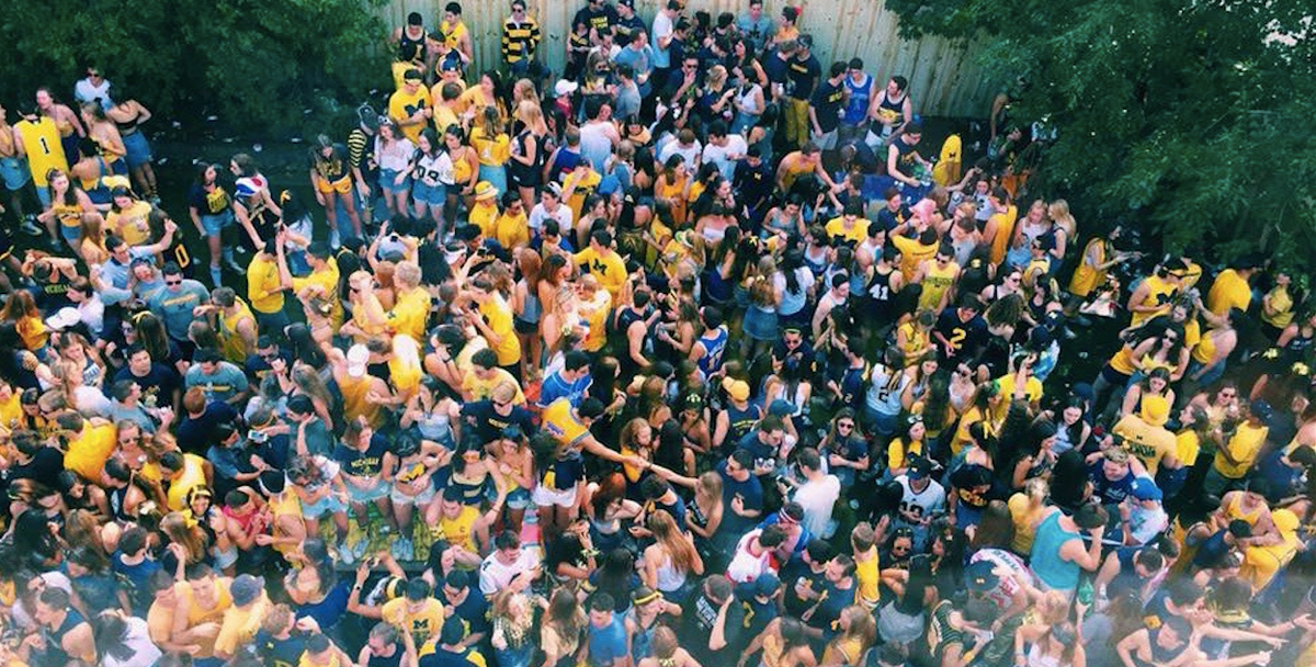 Elisabeth Carell, Choose UMich Because You KNOW We're The Best Big 10