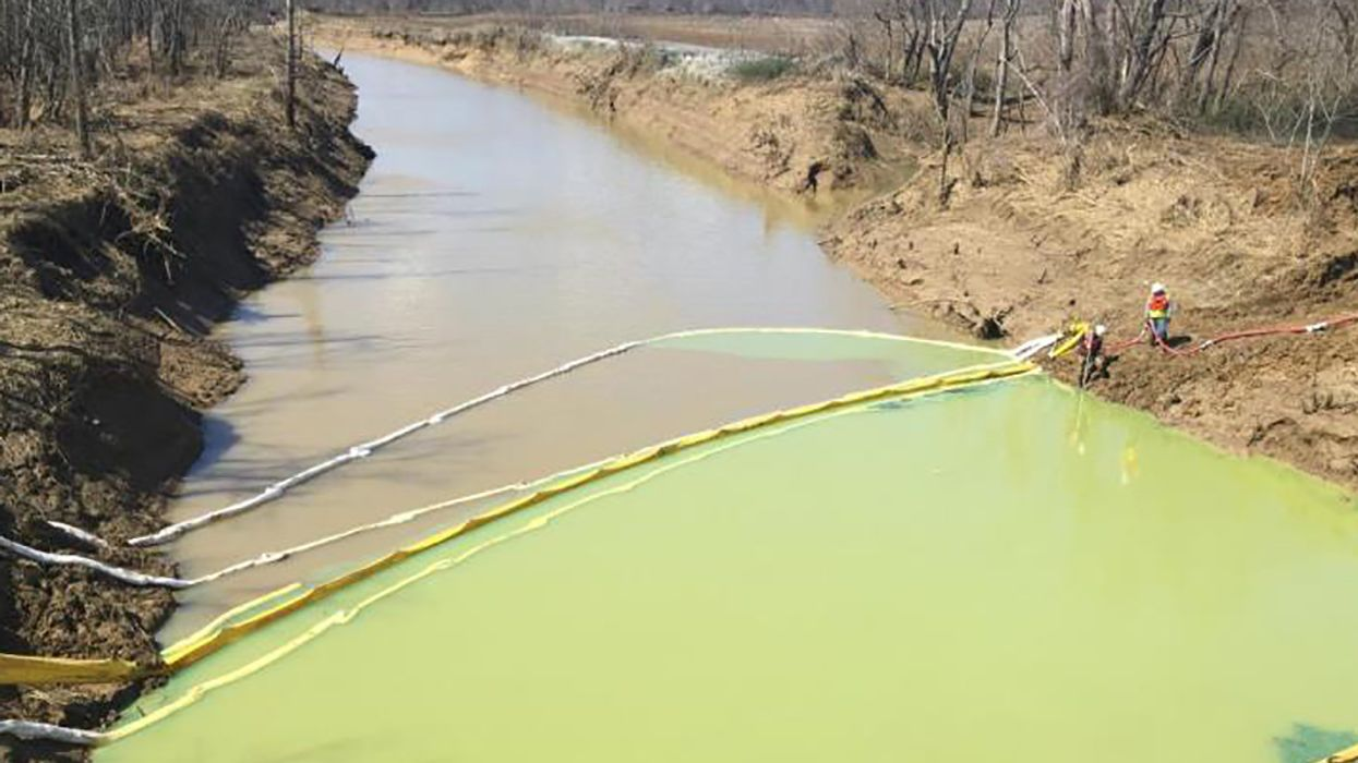 Pipeline Leaks 42,000 Gallons Into Indiana Stream
