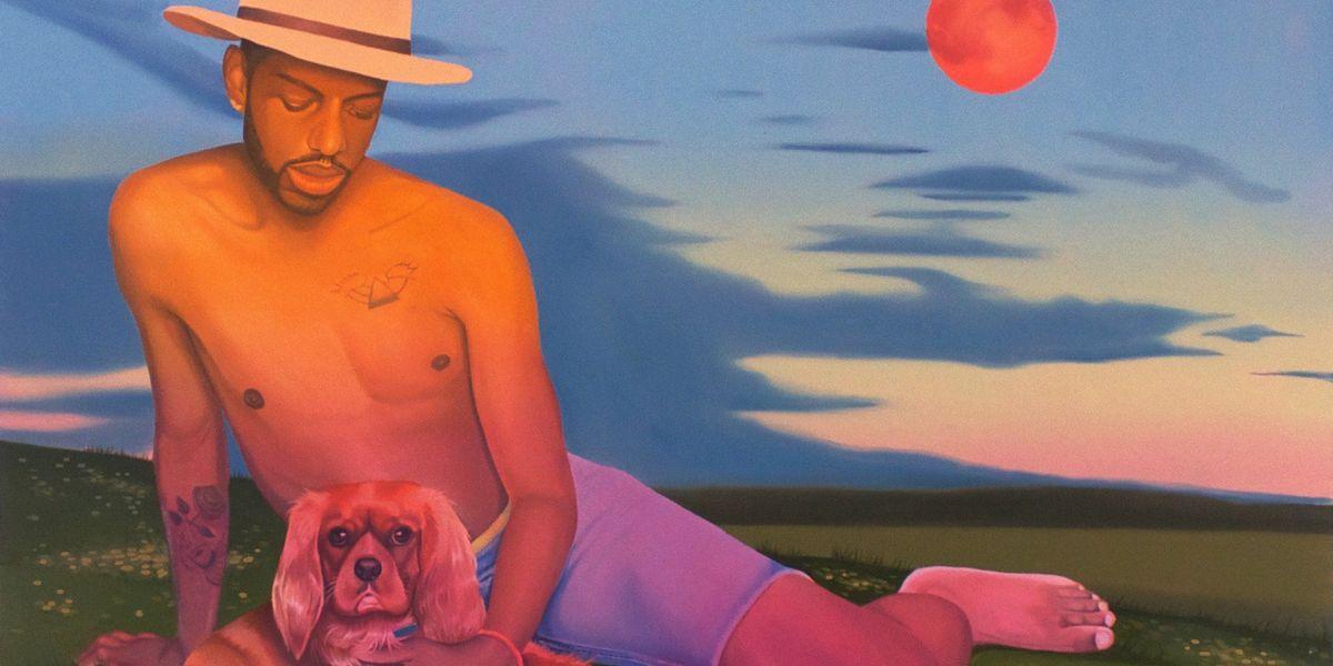 Danny Ferrell's Paintings Depict Queer Men as Royalty
