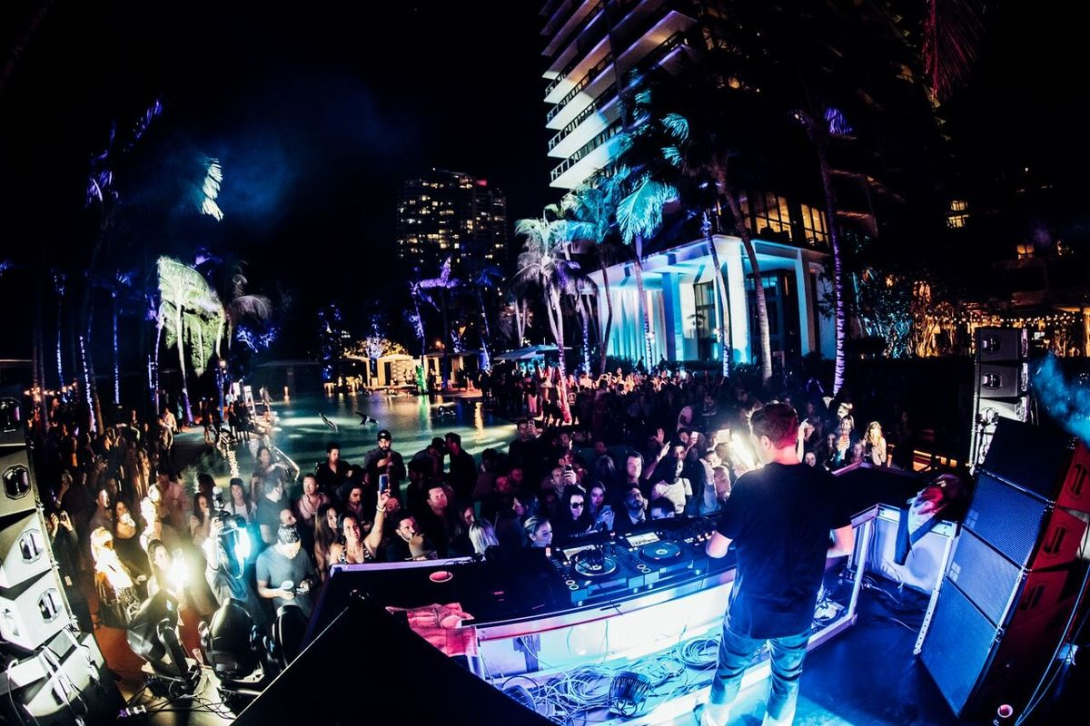 Armani X Celebrates its 'New Energy' with Cara Delevingne and Martin Garrix in Miami