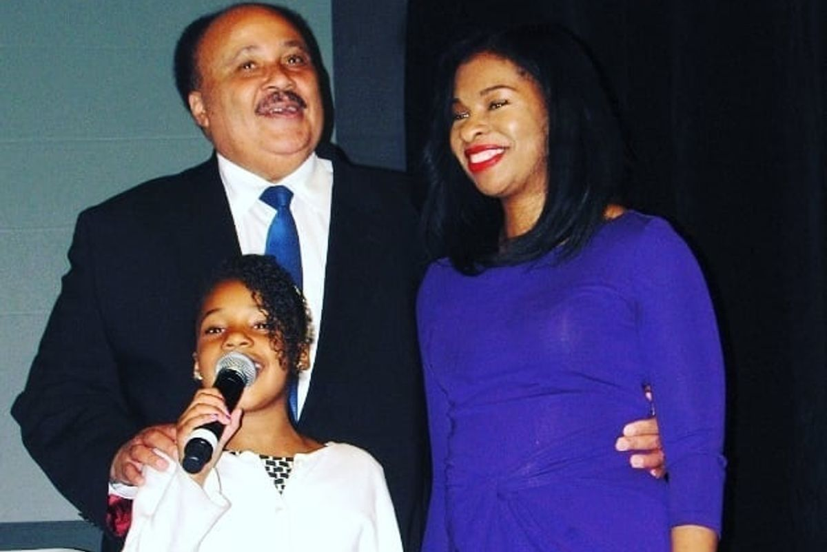 Martin Luther King Jr.'s Only Granddaughter also has a Dream