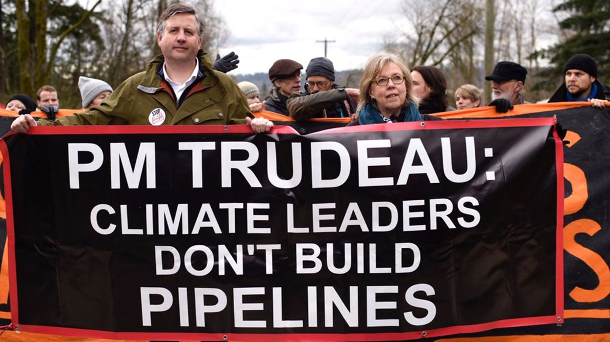 Calling Out Trudeau 'Betrayal,' Water Defenders Mobilize Against Kinder Morgan Pipeline