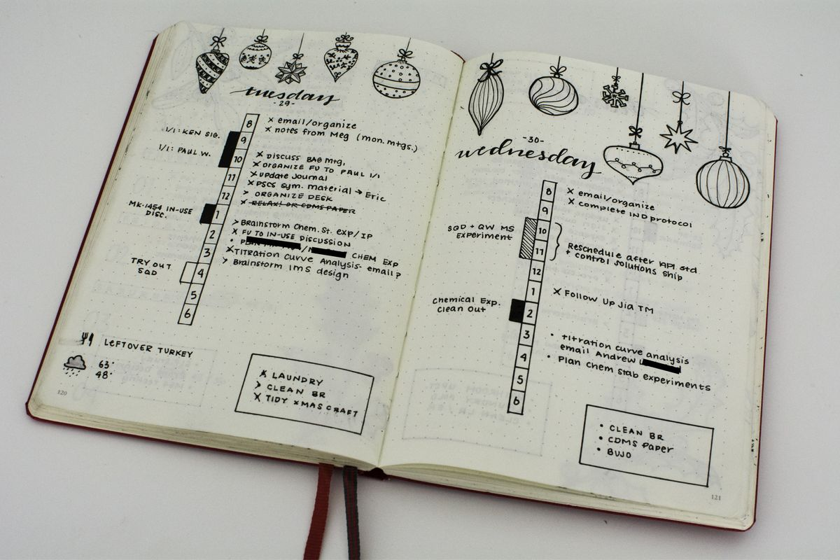 I Tried Bullet Journaling.