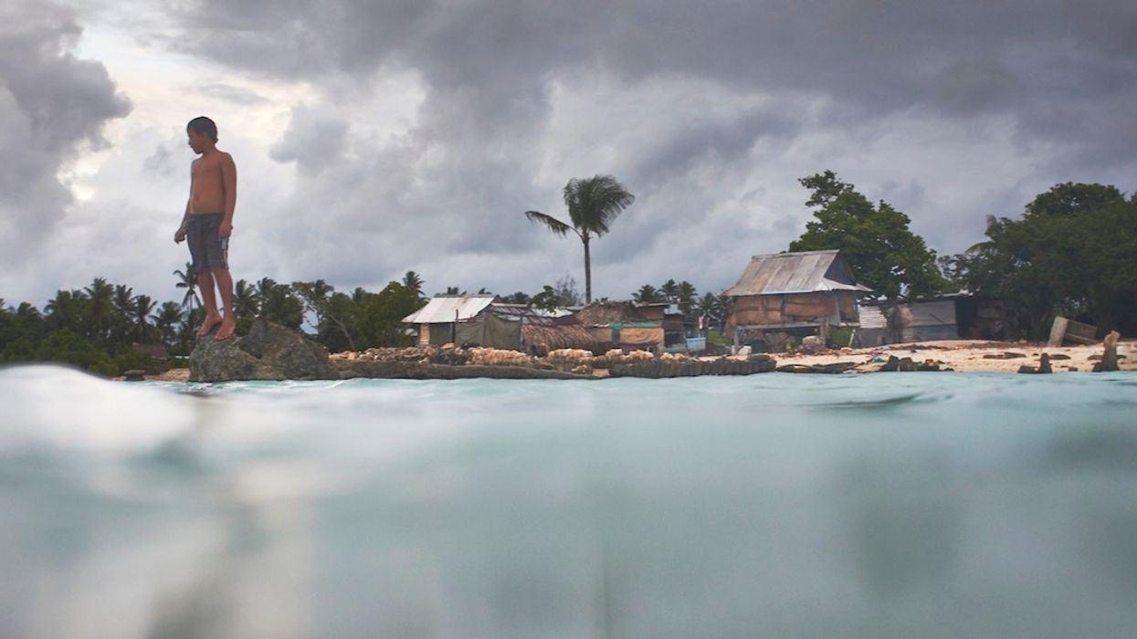Stunning Documentary Examines Kiribati's Unrelenting Sea Level Rise