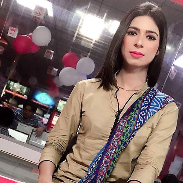 Pakistan's First Transgender Anchor Makes Her TV Debut