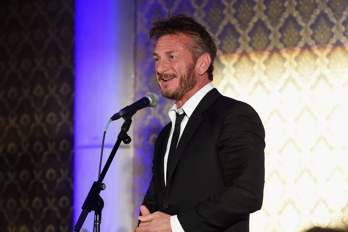 Sean Penn Wrote a Six-Page Poem About #MeToo