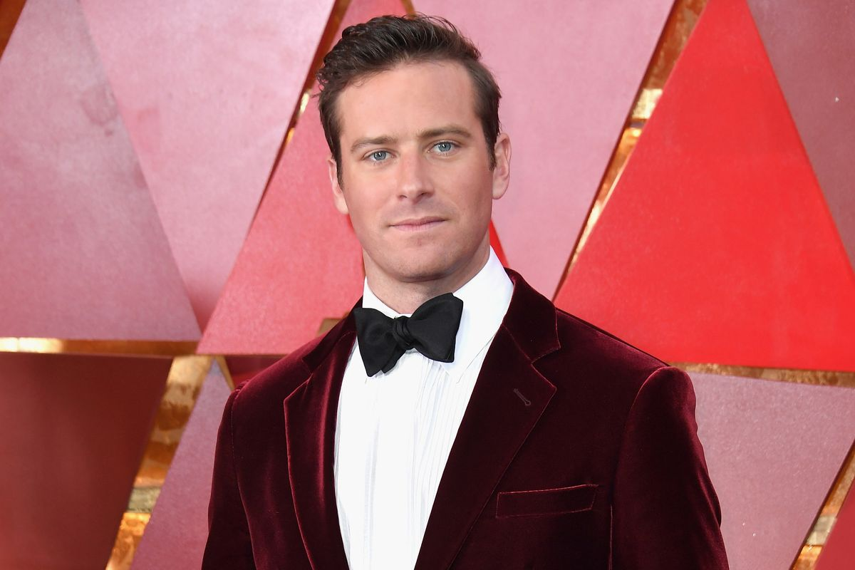 Armie Hammer's Track Suit Era Is Officially Over