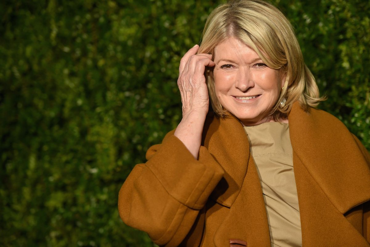 Martha Stewart Casually Posted an Instagram Thirst Trap