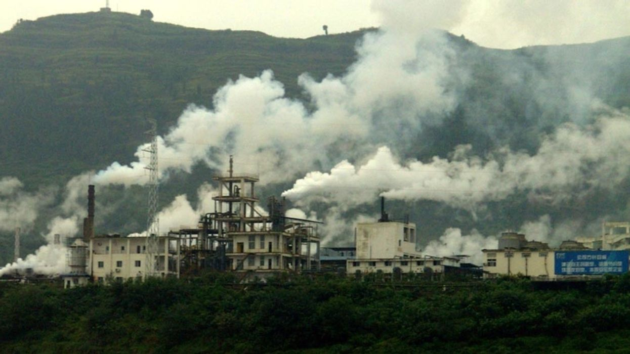 Pollution Sources in China Increased More Than 50 Percent in Eight Years