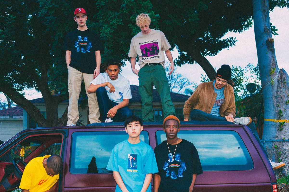 Future-Forward Boy Band Brockhampton Debuts Gay Power Collection