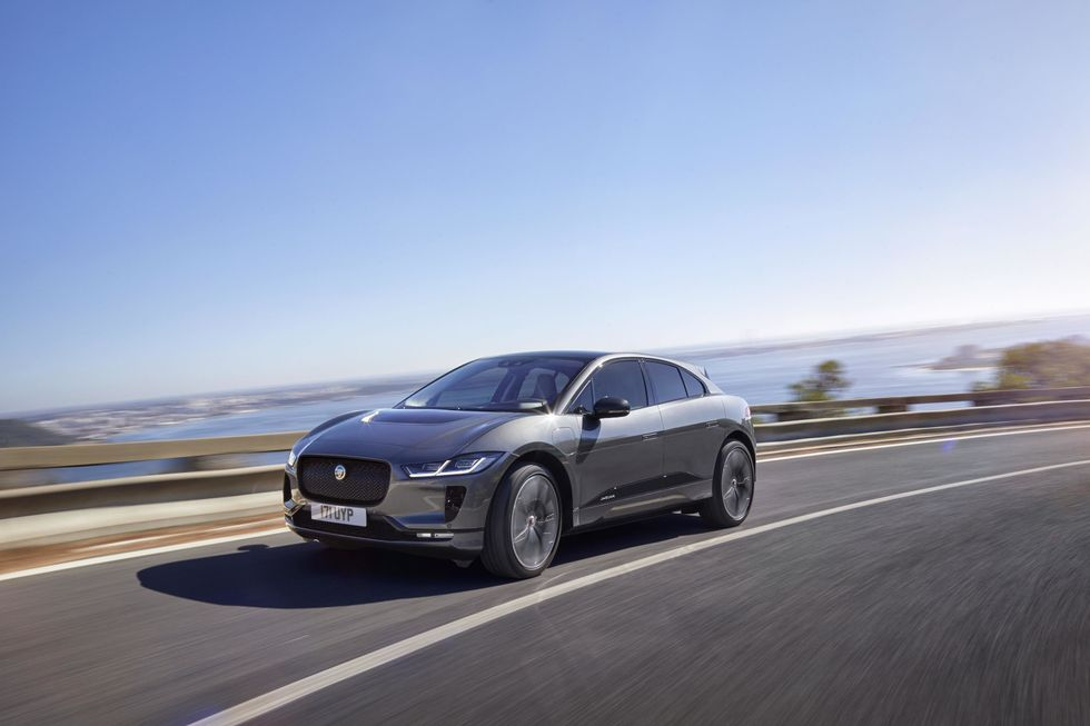 Photo of the Jaguar I-Pace electric car