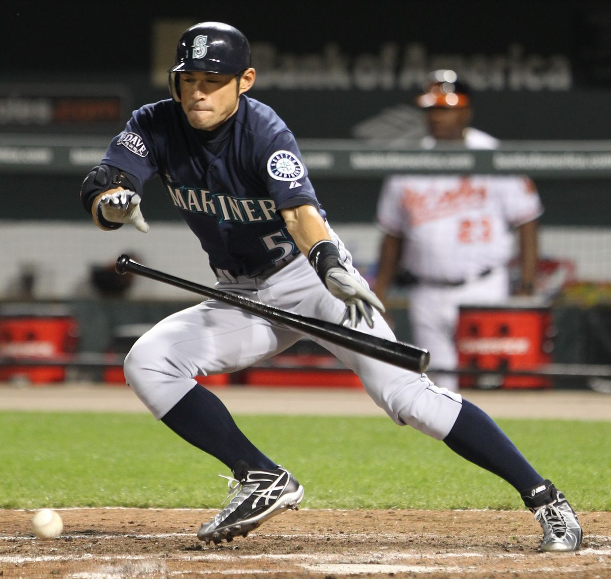 Ichiro Back Where He Belongs In Seattle