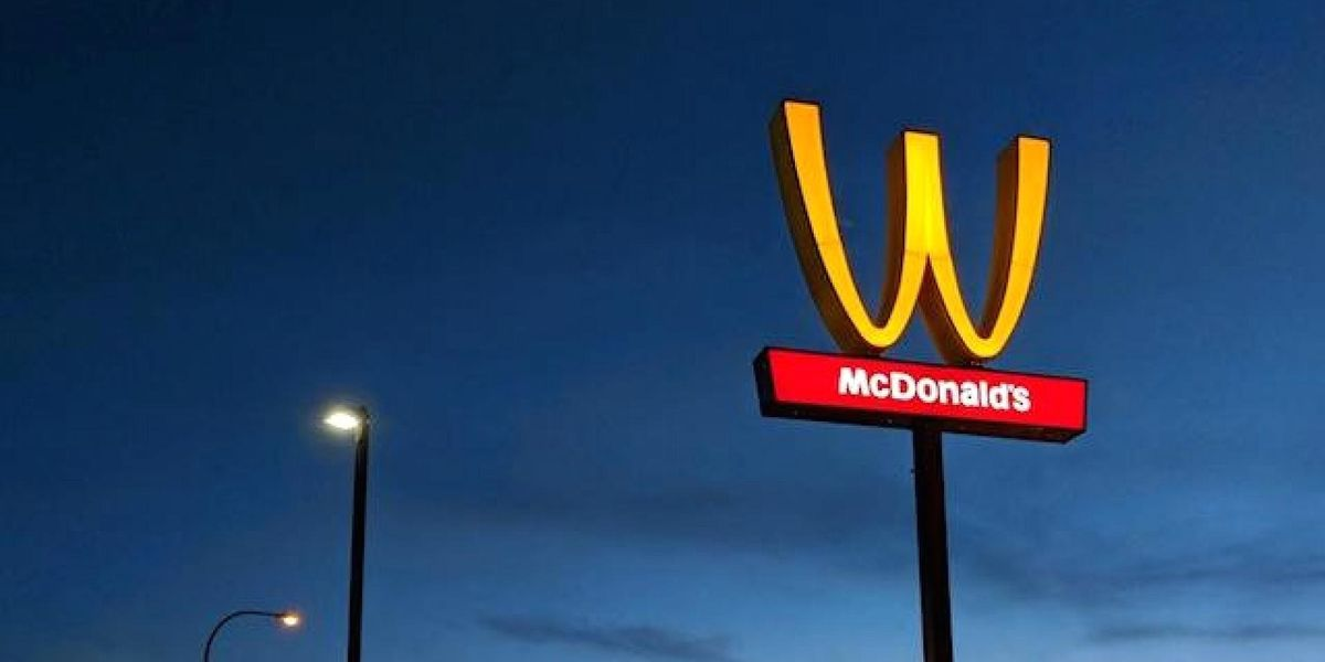 McDonald's Flipped Its Arches to Celebrate Women