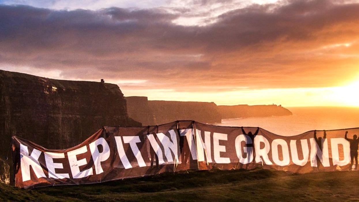 Fossil Fuel Execs Very Annoyed #KeepItIntheGround Movement Crimping Their Ability to Pillage Planet
