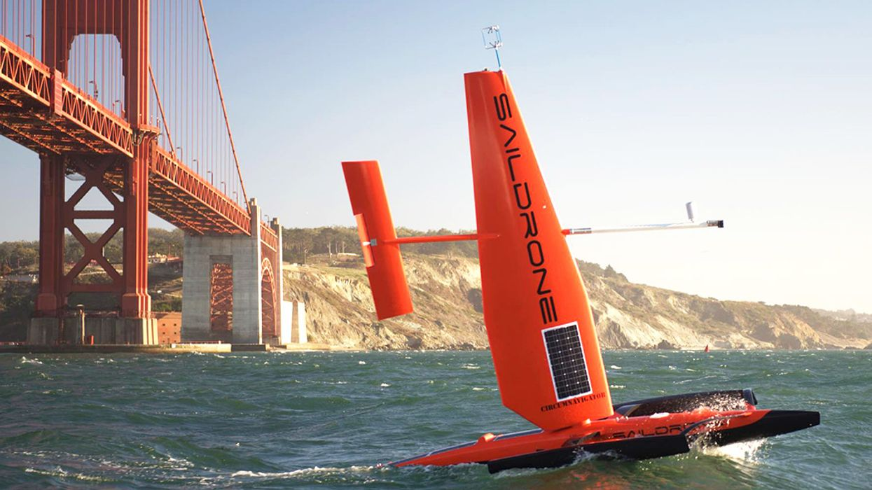 Environmentally-Friendly Drones Sail Away for Science