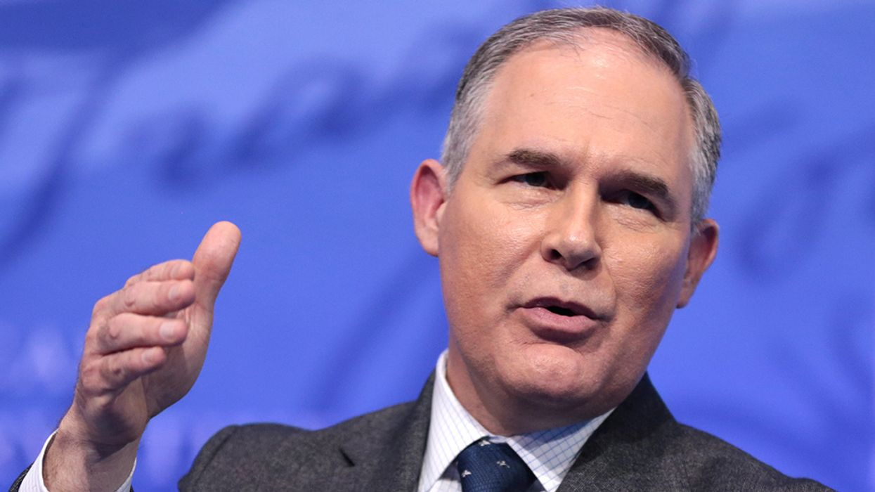 Pruitt's Climate Change Debates Nixed by Kelly