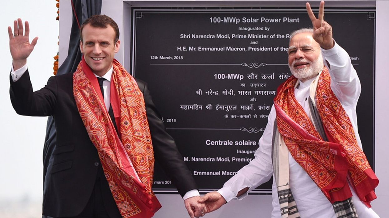 India and France Strengthen Joint Commitments to Renewable Energy