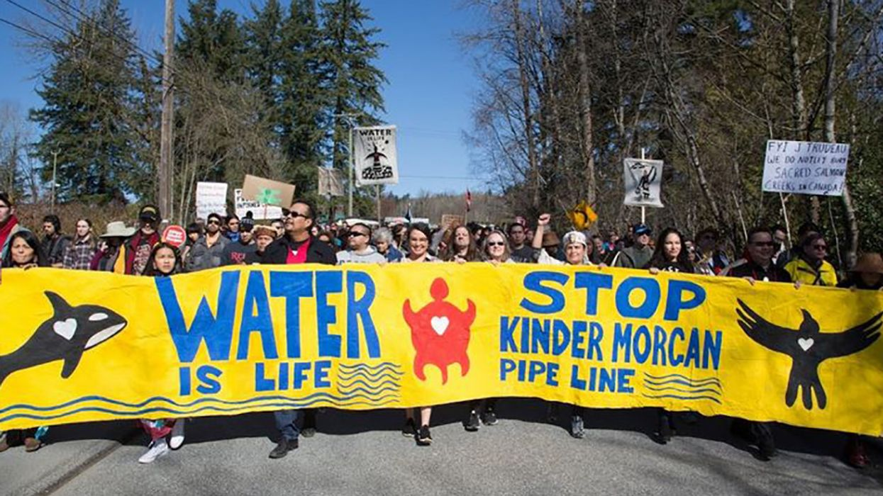 First Nations Build a 'Watch House' in Path of Kinder Morgan Pipeline