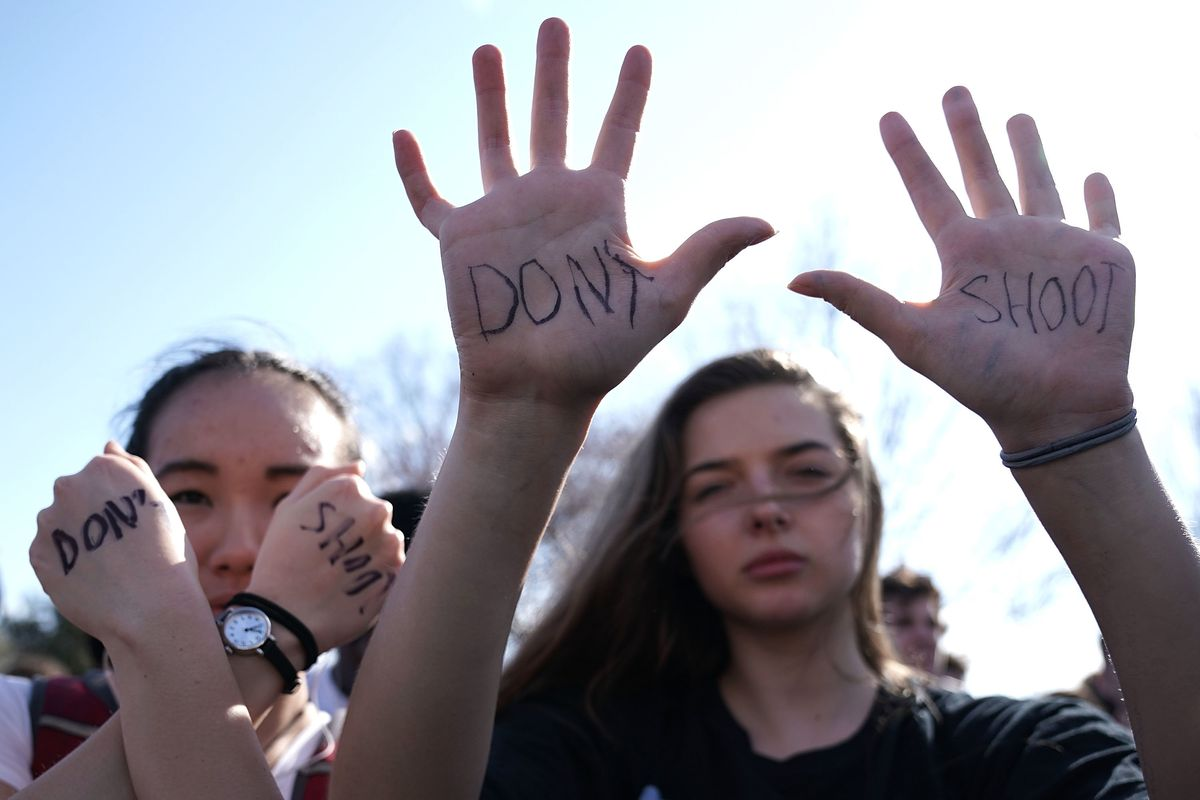 Students Walking Out of Classrooms to Advocate For Gun Control
