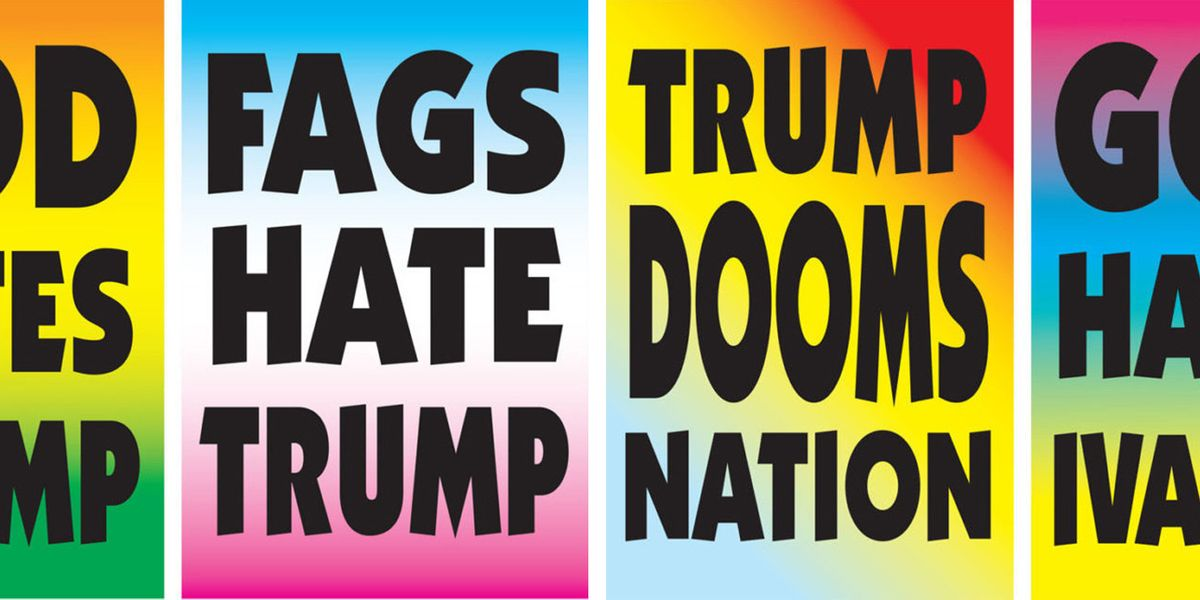 Protest Signs Flip Westboro Baptist's Legacy on Its Head
