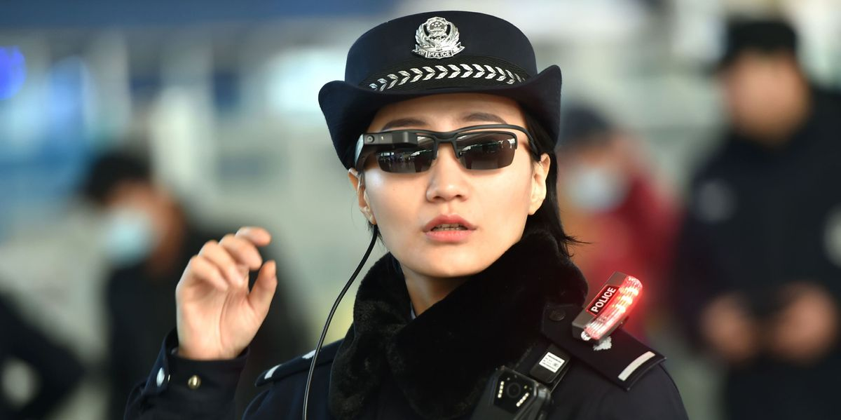 Chinese Police Can Now Scan People With Facial Recognition Shades