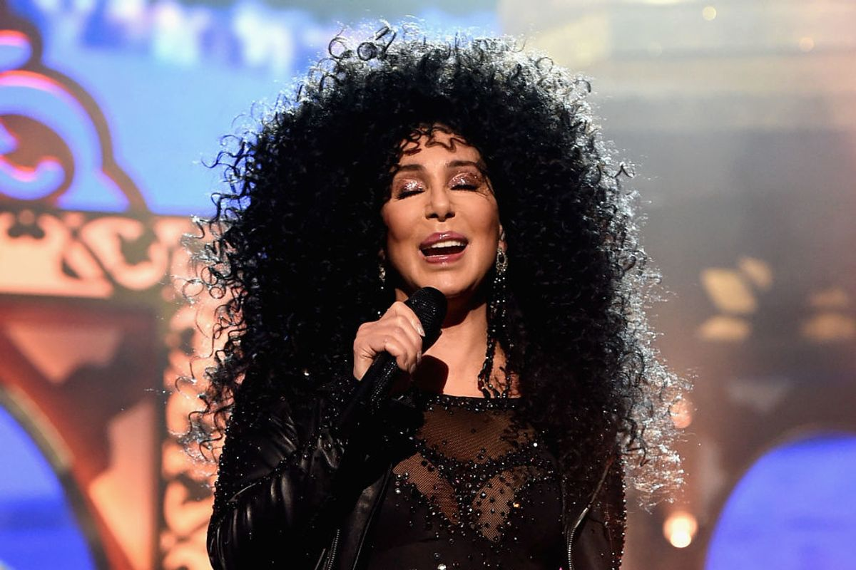 Cher and Bob Mackie Team Up on Sparkly Costumes and We Are Living