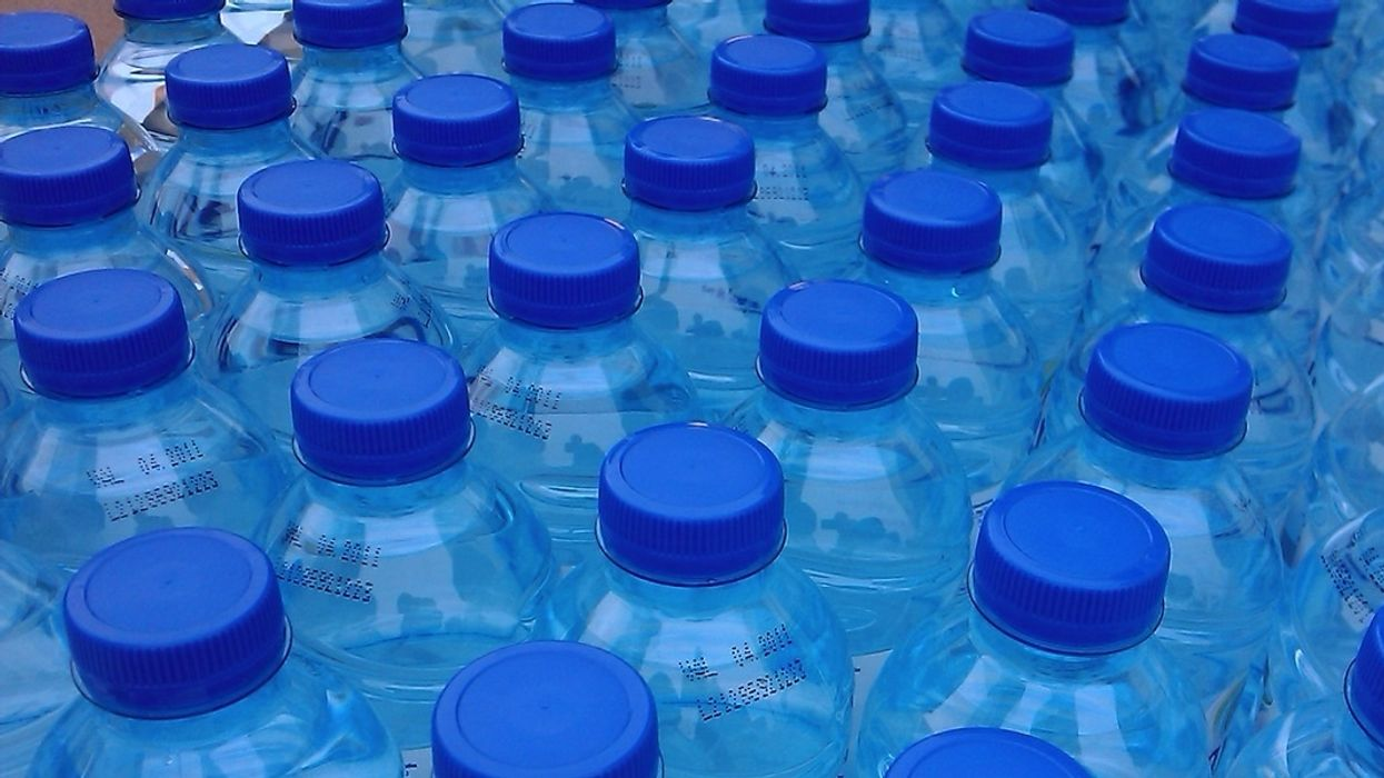 Study: 93% of Bottled Water Contains Microplastics