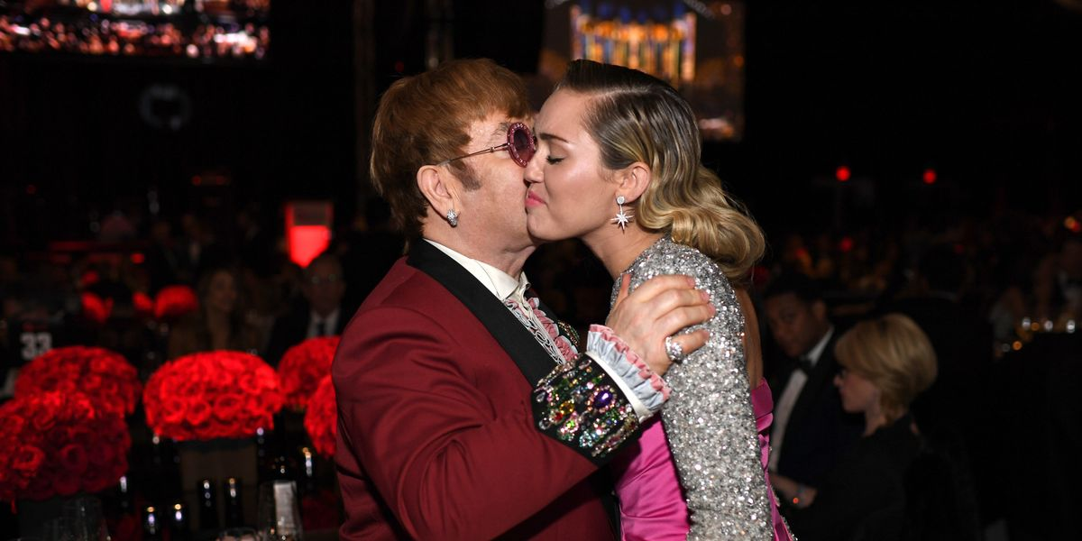 Miley Cyrus and Lady Gaga Will Tribute Elton John on New Album